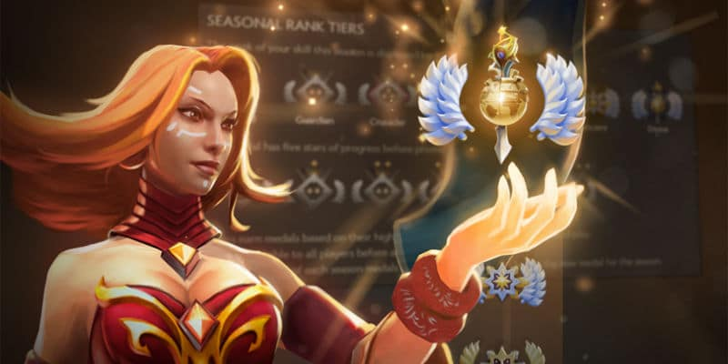 Dota 2 seasonal ranking är nu live
