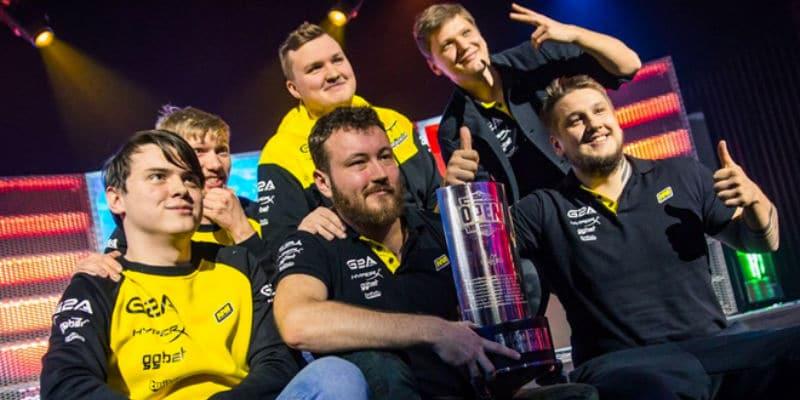 NaVi vann Dreamhack Astro Open 2017