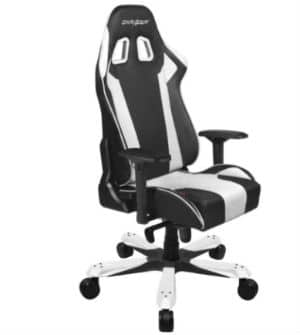 DXRacer King Series Svart Vit